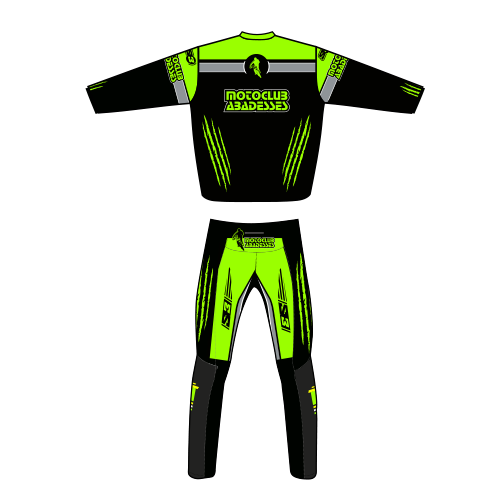 Conjunto Trial Moto Club Abadesses