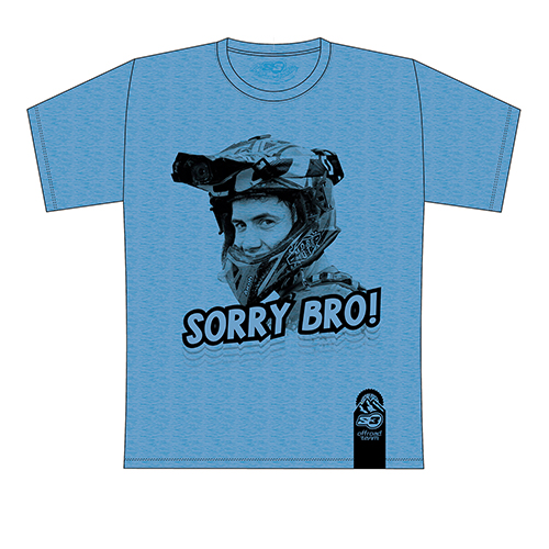 T-shirt Mario Román Sorry Bro (Blue)
