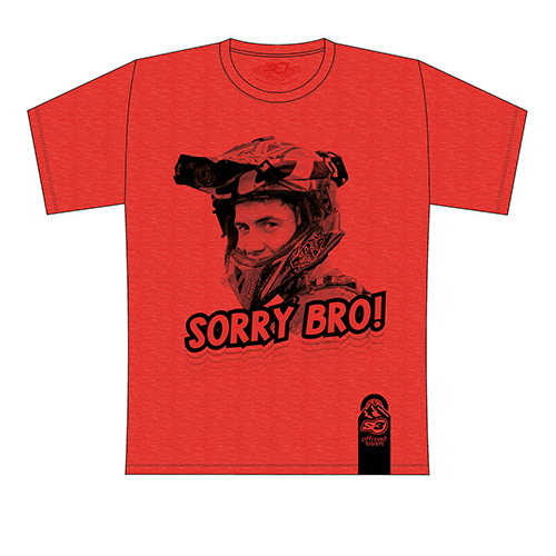 T-shirt Mario Román Sorry Bro (Red)