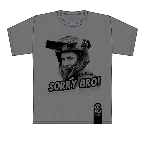 T-shirt Mario Román Sorry Bro (Dark Grey)