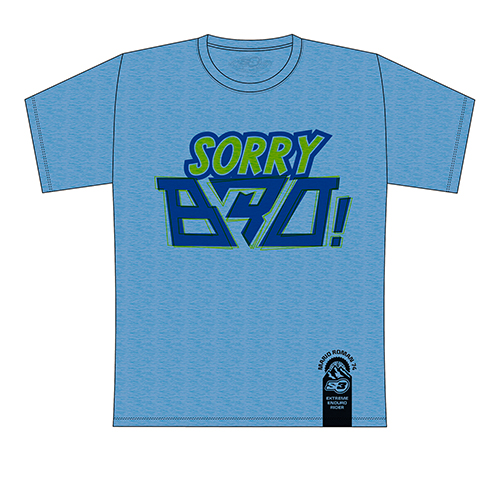 T-shirt Mario Román Sorry Bro 2 (Blue)